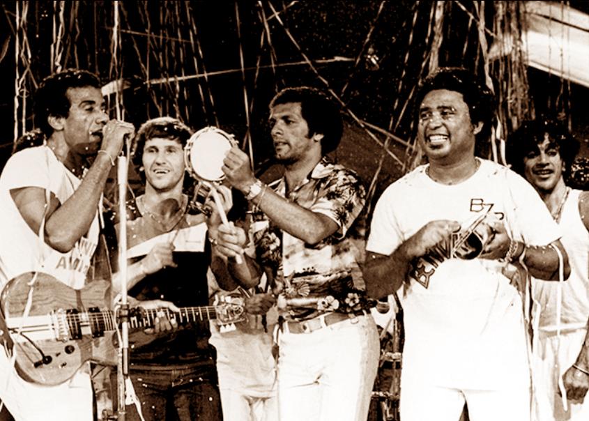 Jorge Ben, Zico, Júnior e Caetano