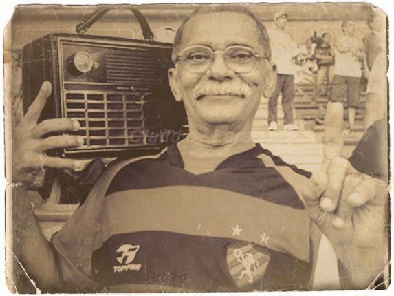 Zé do Rádio, torcedor símbolo do Sport