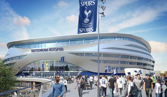 Projeto do novo estádio do Tottenham