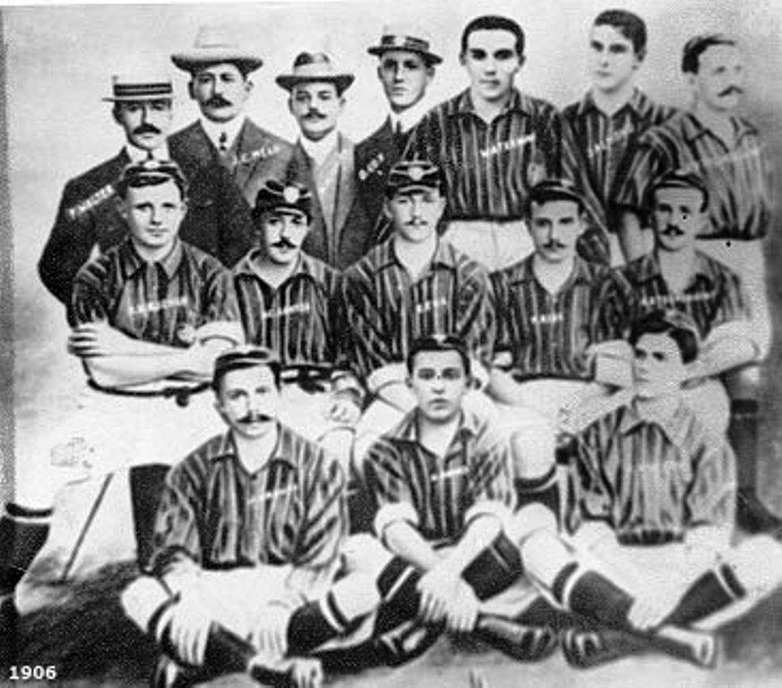Um dos primeiros times do Fluminense