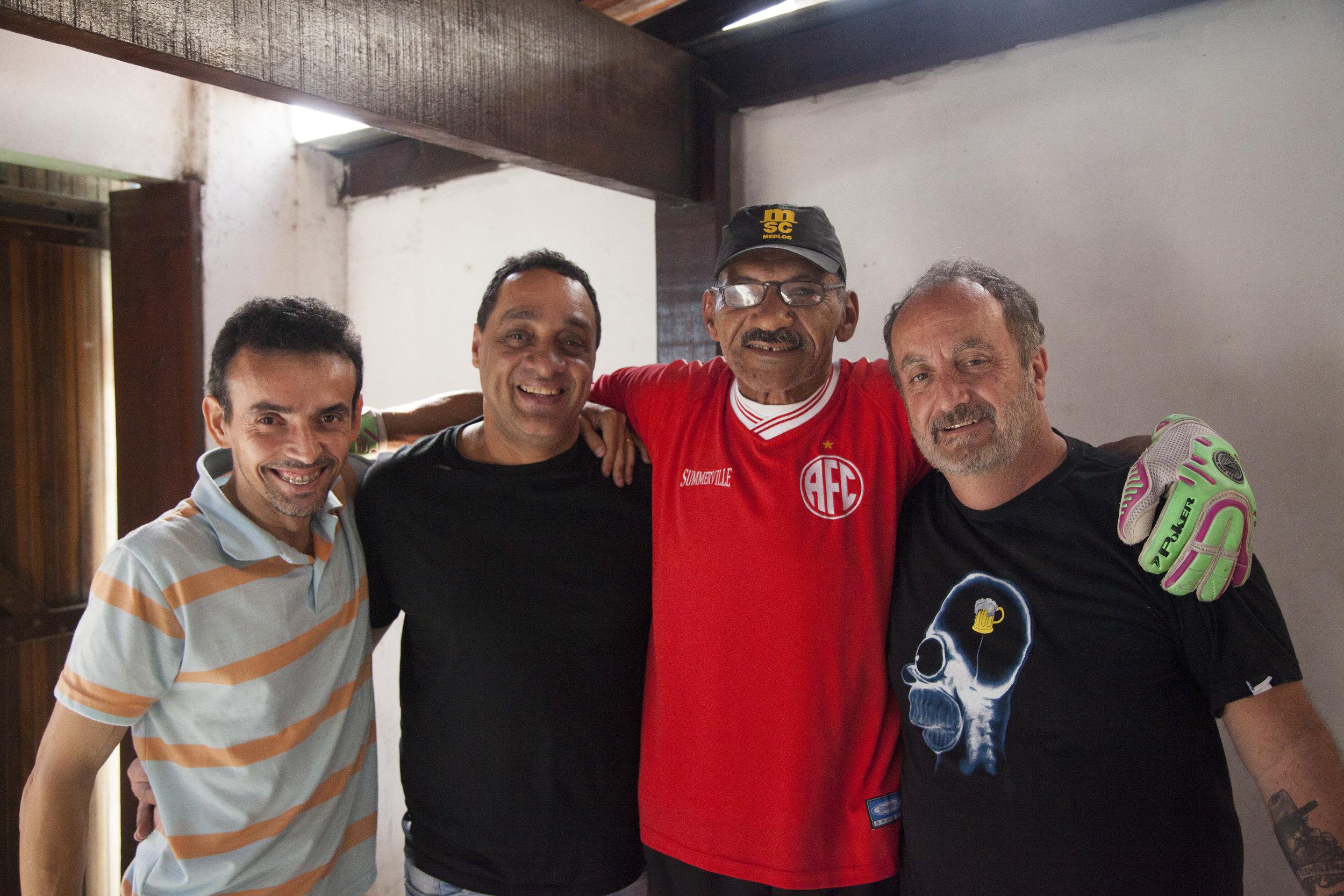 Marcos Vinícius, Márcio Soares Figueiredo, País e Guillermo Planel