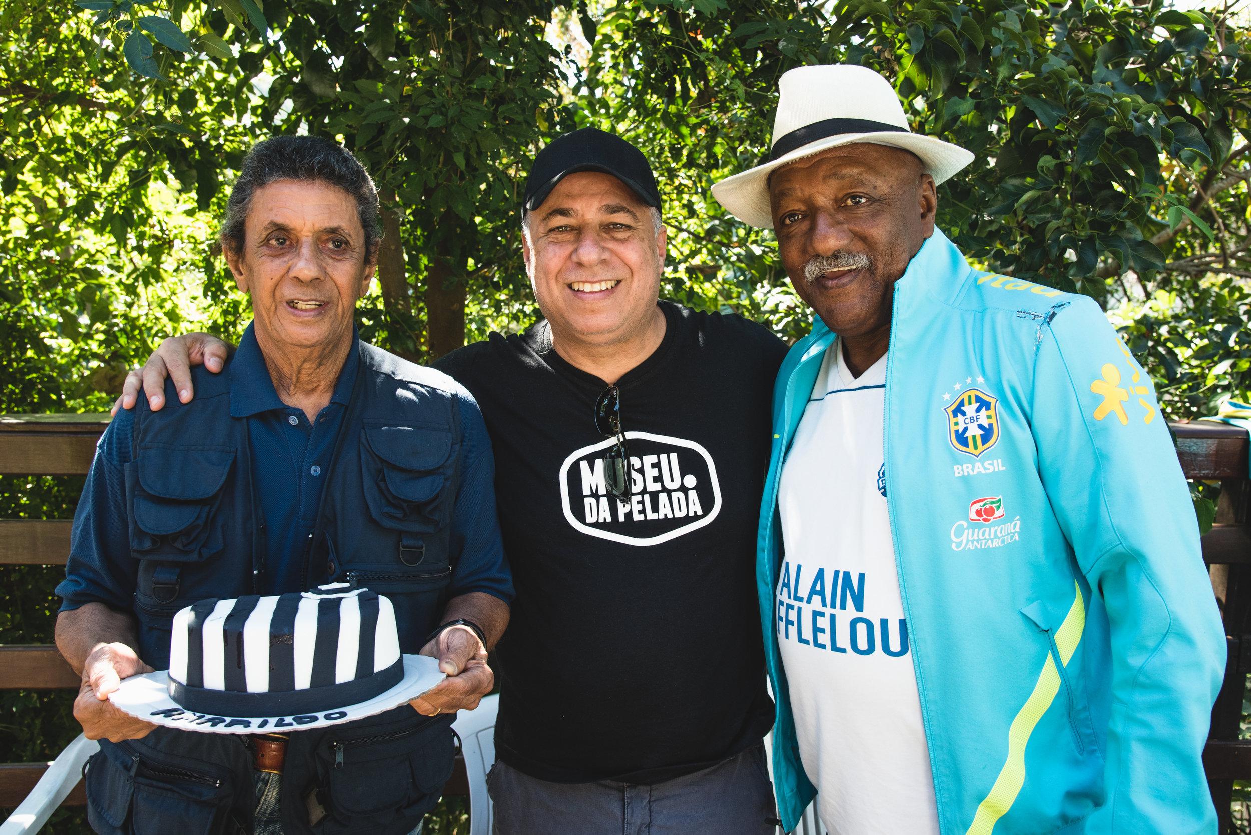 Amarildo, Guilherme Careca e PC Caju