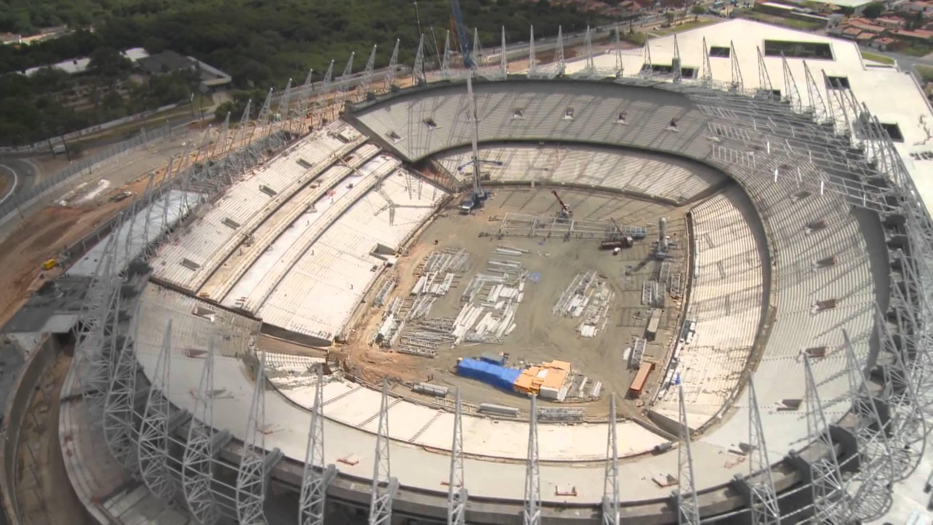 Obras no Estádio Castelão