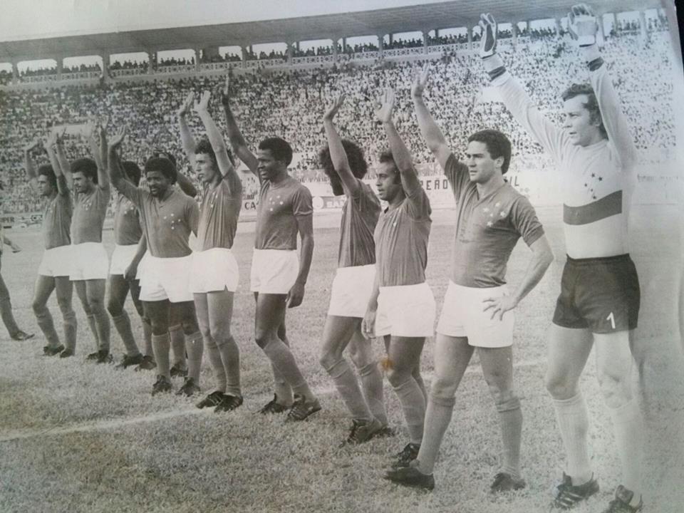 Impecável time do Cruzeiro