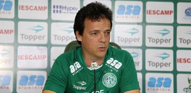 Fernando Diniz assumiu o Guarani no início de dezembro