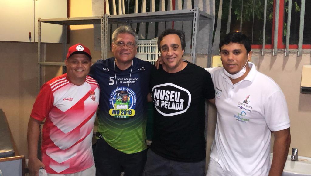 Reinaldo Demorô, Bris Belga, Sergio Pugliese e Bruno Gallart