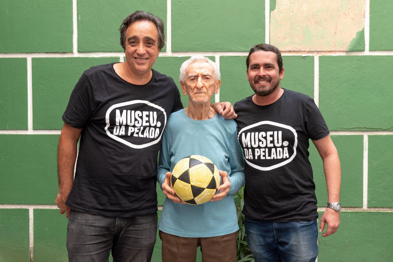 Sergio Pugliese, Jankel Schor e Leandro Costa