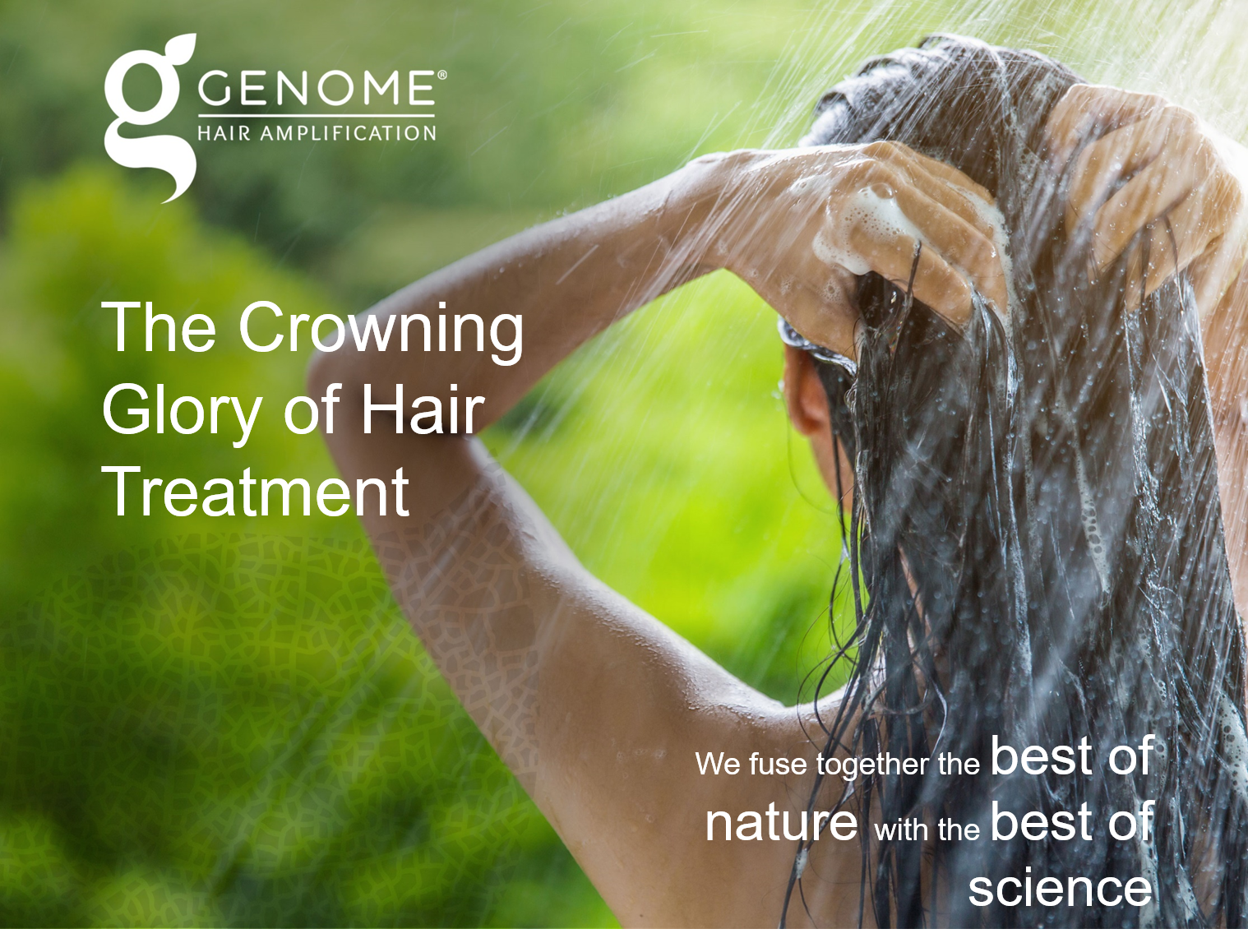 Genome, our new Hair growth products are incredibly popular - because they work