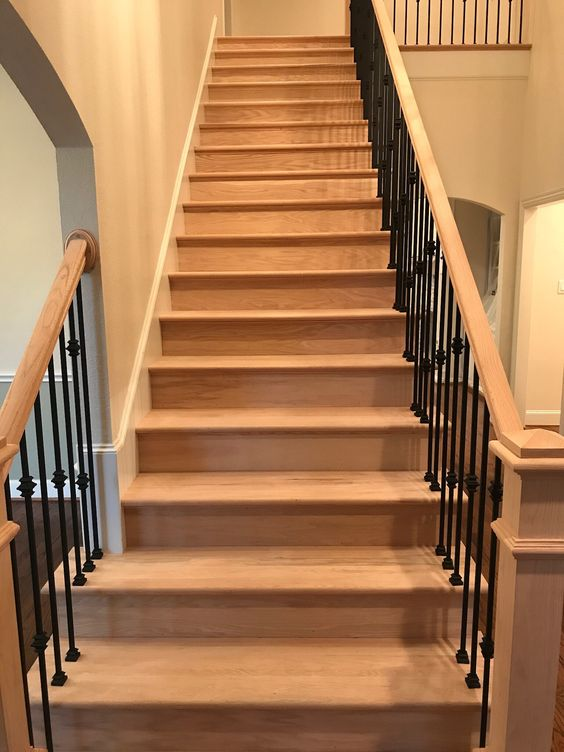 Sand and Finish Stairs