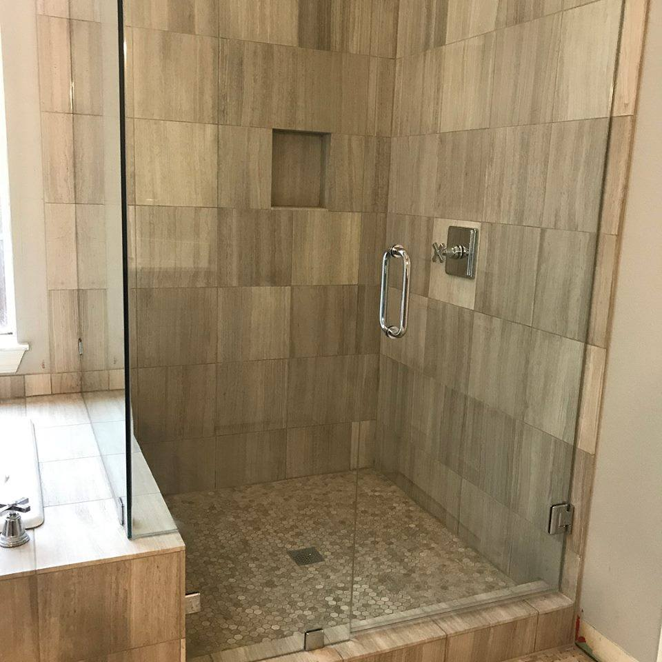 Natural Stone Shower Remodel