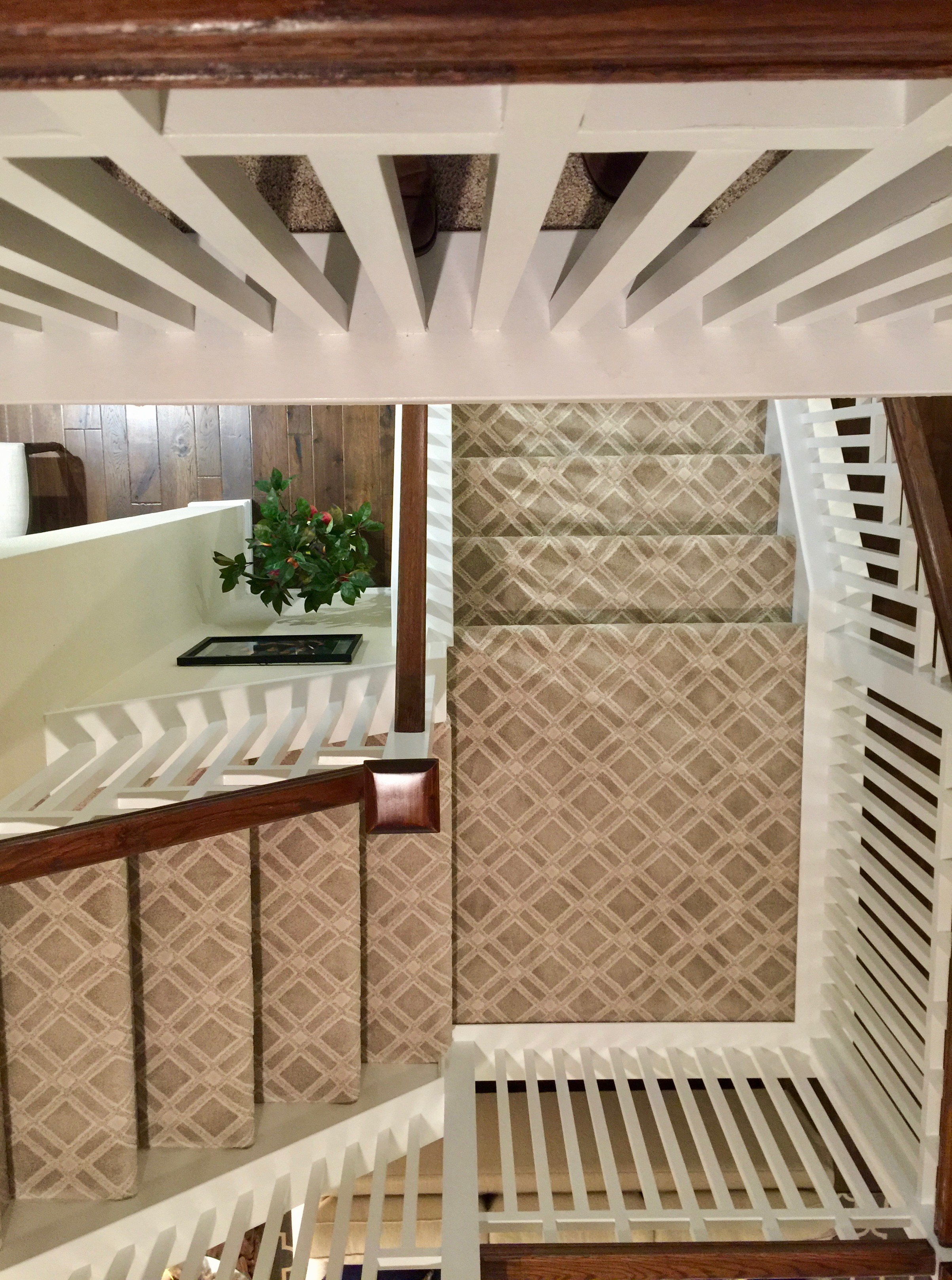 Statement Runner - Each stair installed separately