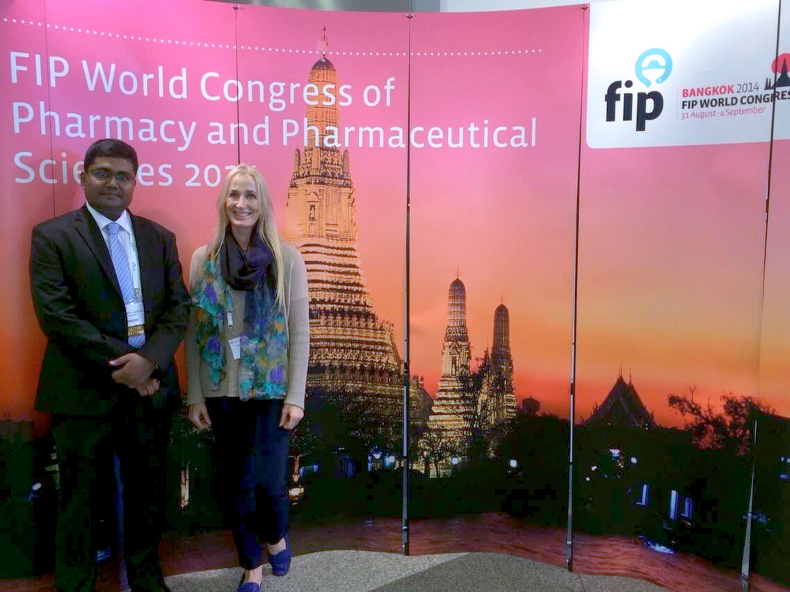 Mohammad Abusyed and Terry Conroy participating in the 2014 FIP Conference in Bangkok.