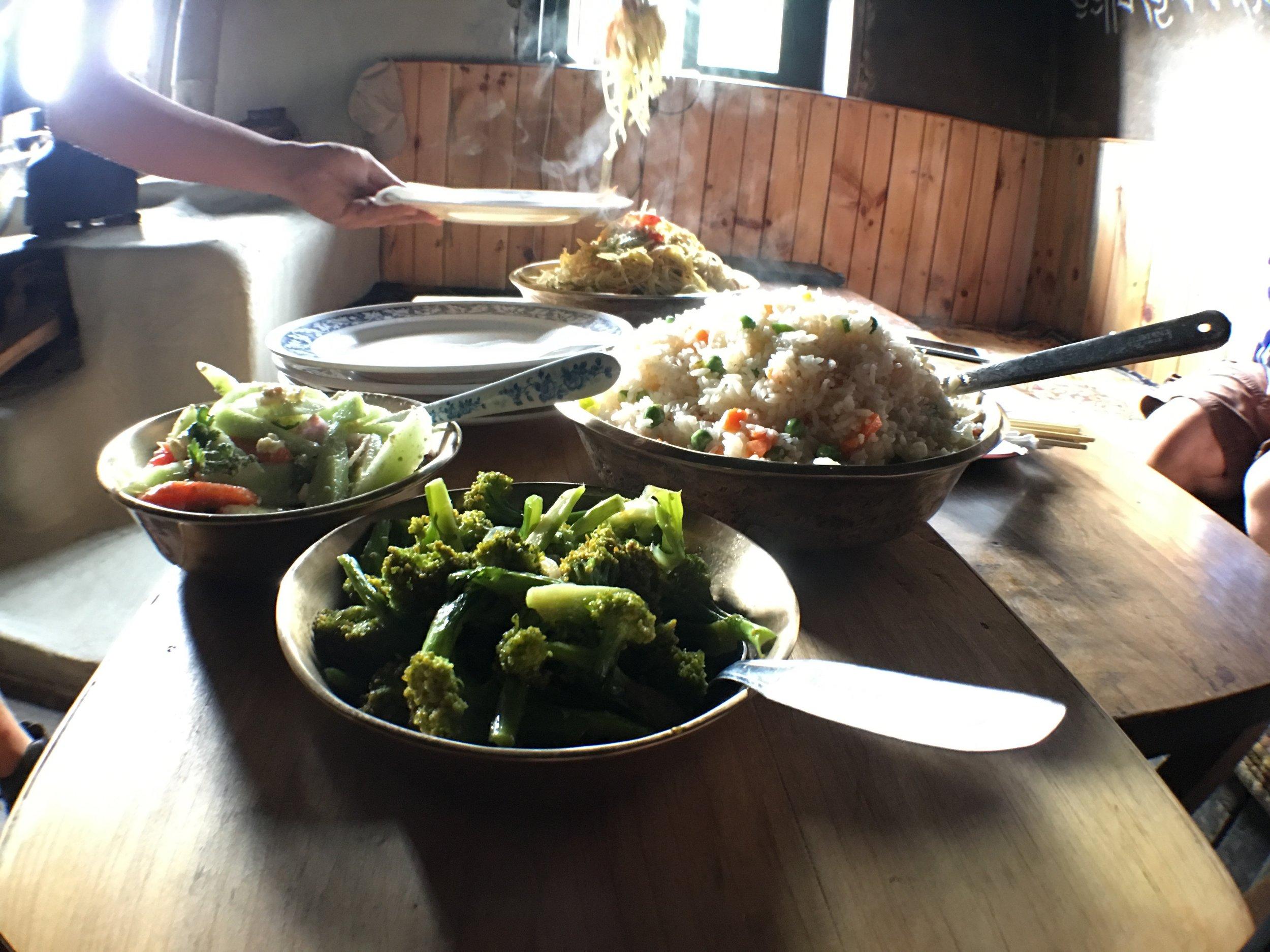 Sherpa cuisine