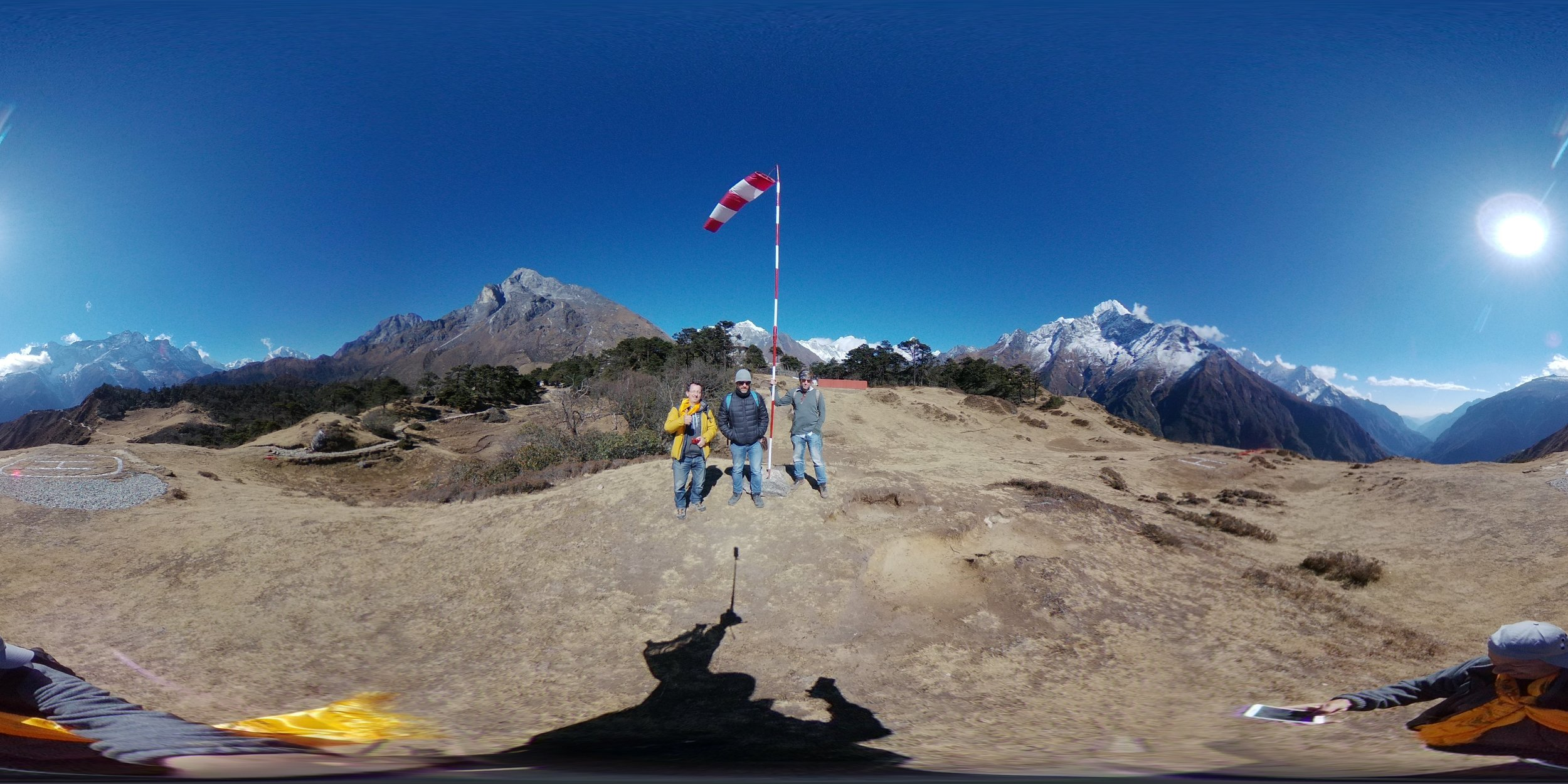 Helicopter Ride Near Mt Everest