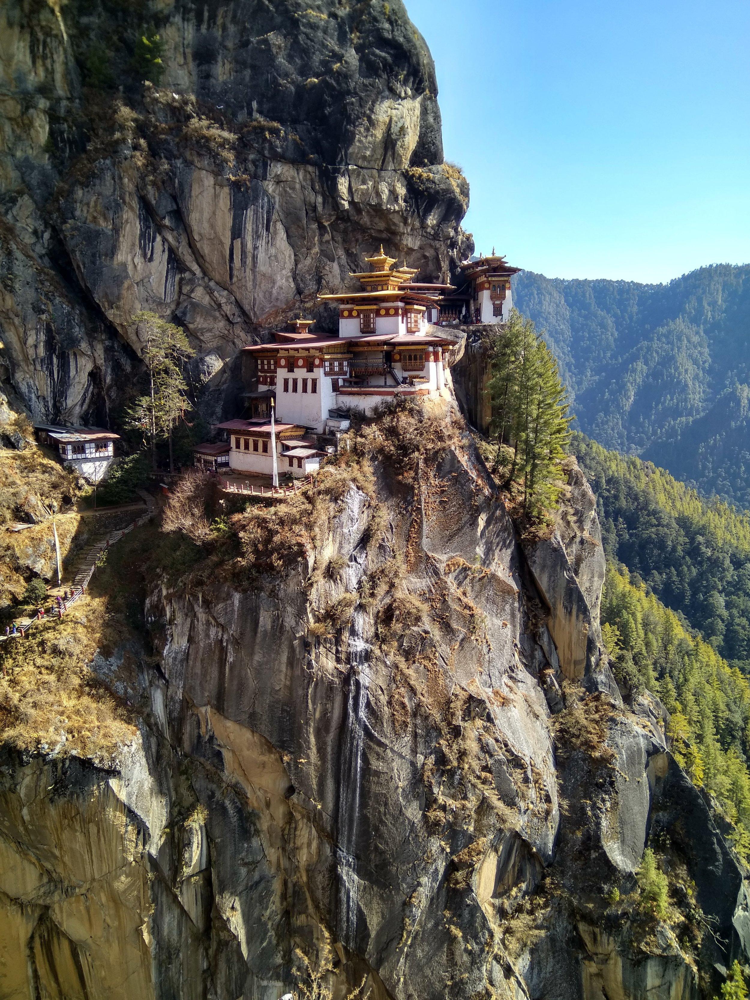 Taktsang Monastery or Tiger's Nest