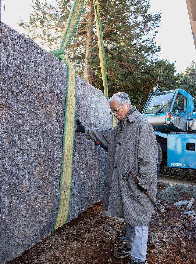 sugimoto with stone slab.jpg