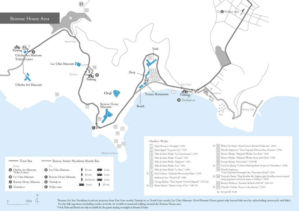 Naoshima House project MAP.png