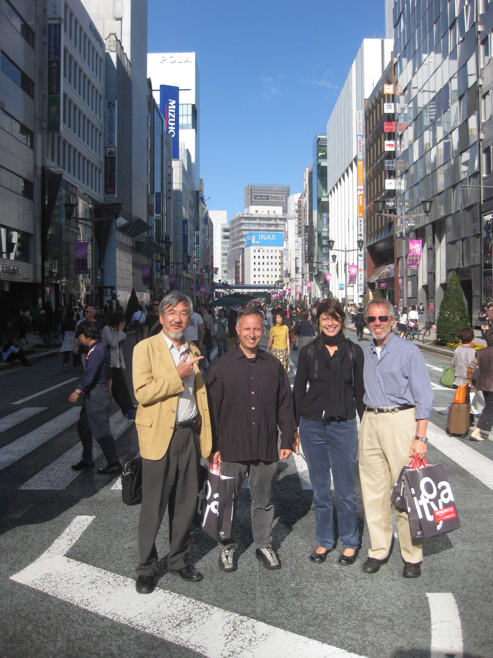 2006 Ginza with friends.jpg