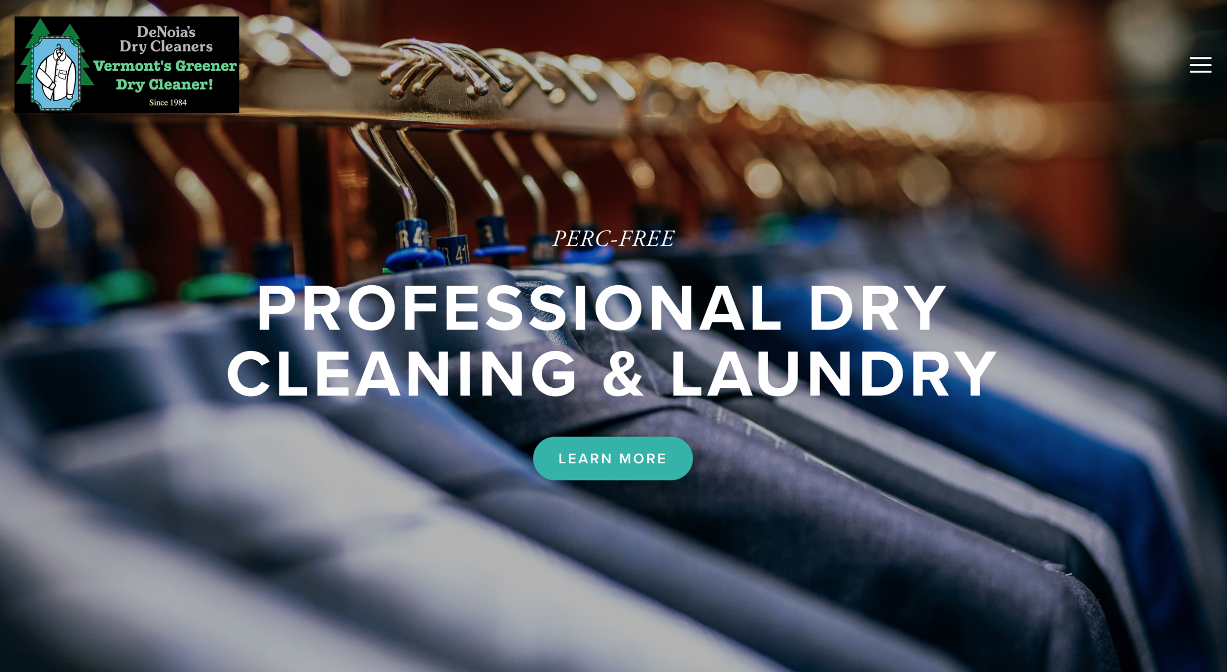 It was a pleasure to make this    clean  website.  Vermont Dry Cleaner