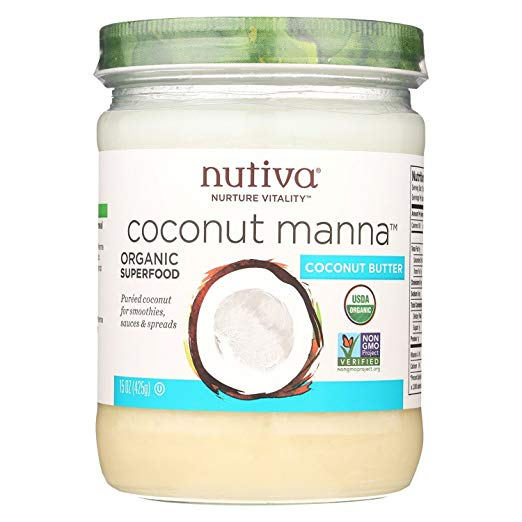 Nutiva Coconut Manna - Creamy Coconut for Smoothies, Sauces, and Spreads