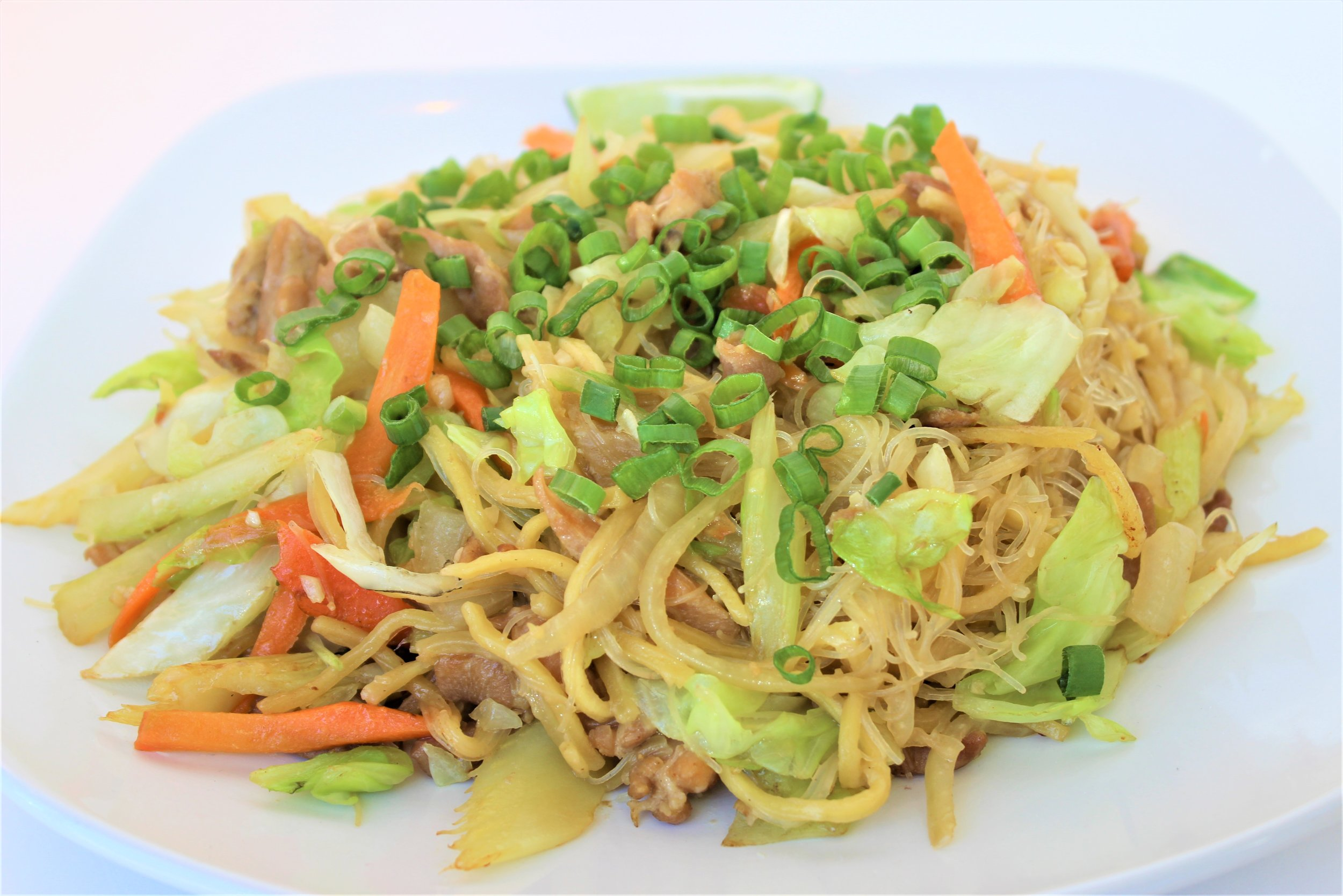 According to tradition one should not purposely cut or snap the noodles when cooking or eating.