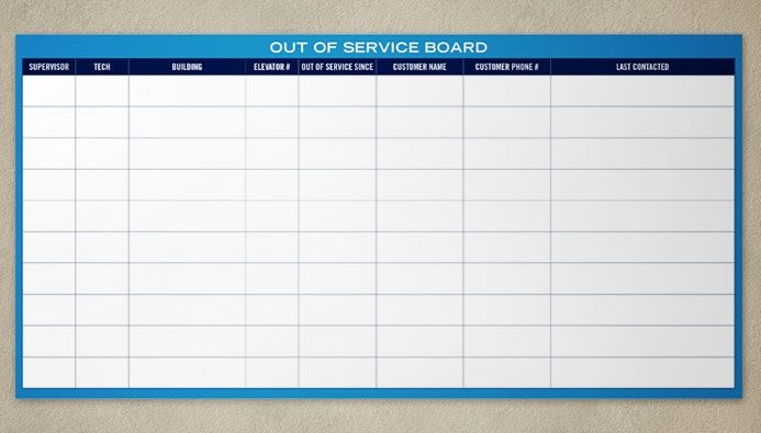 Our custom printed dry erase boards, magnetics and panels all have a very smooth, clean dry erase writing surface that won't ghost and erases great every time. We can print full color images or in black and white.