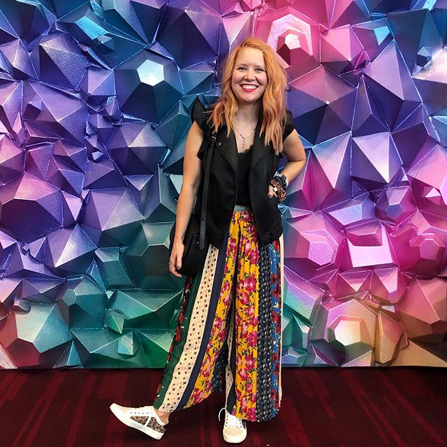 Sale alert! My #patternplay pants are 20% off today! 👏🏼♥️👏🏼 Linked here: http://liketk.it/2Eorb, in the @liketoknow.it app and in my bio. #liketkit #trustyourcloset #LTKsalealert #livecolorfully #myanthropologie
