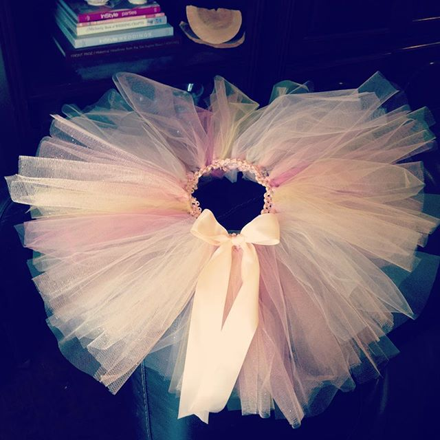 Having fun making no sew #princess #tutus for a birthday gift next month.  Bows to match are next! #birthdaygirl #birthdayfun #princessparty #fun #ballerinagirl