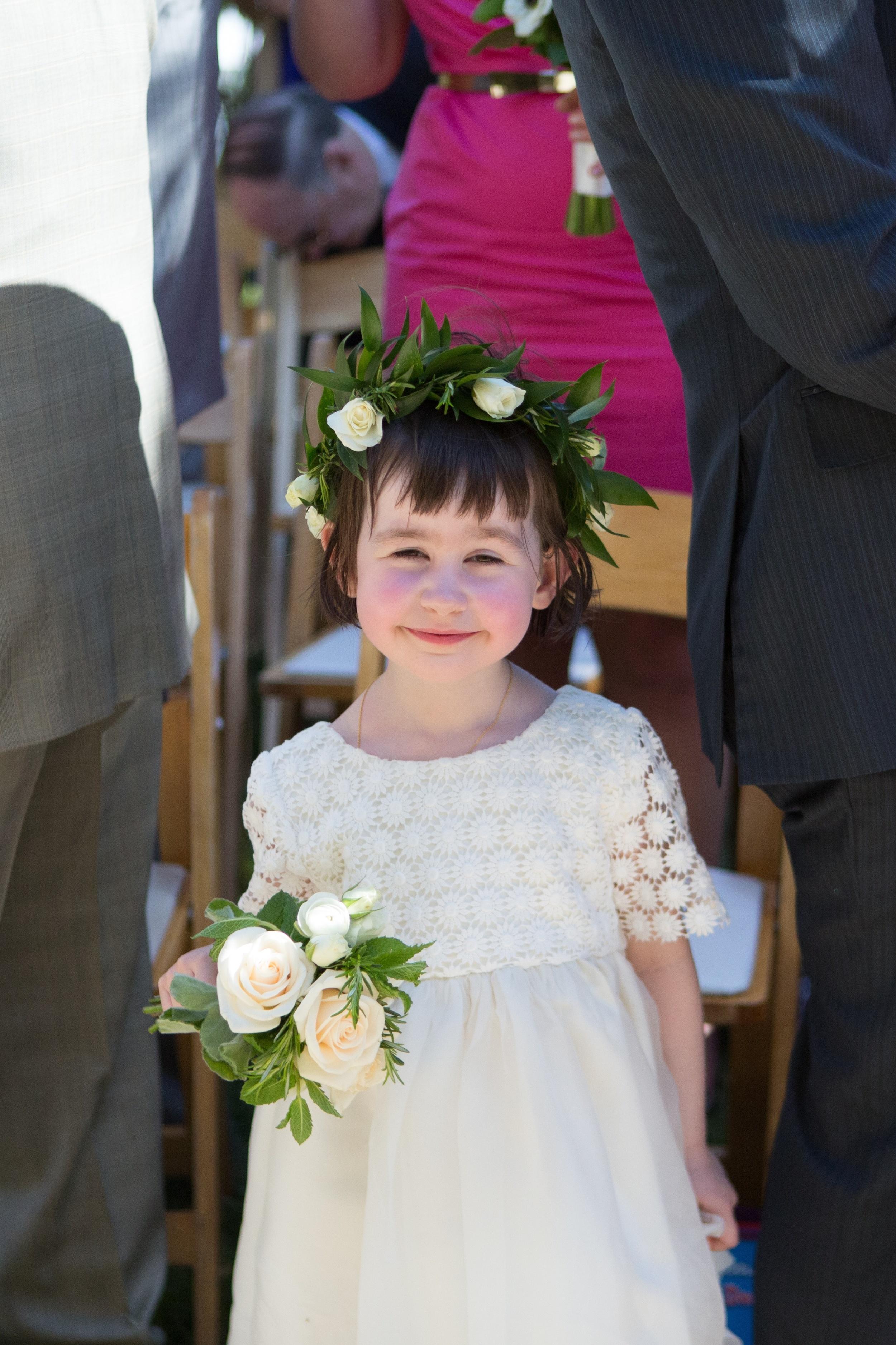 flower girl wreath - Hoste Events