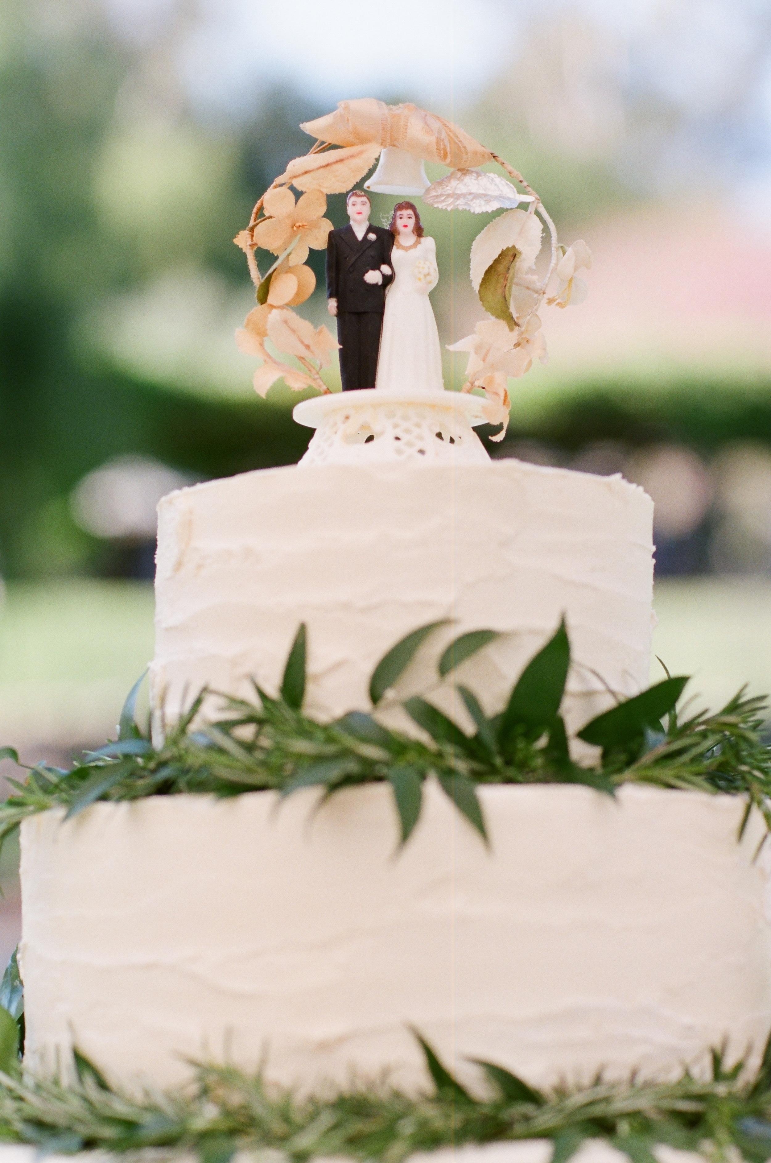 Vintage Cake Topper - Hoste Events