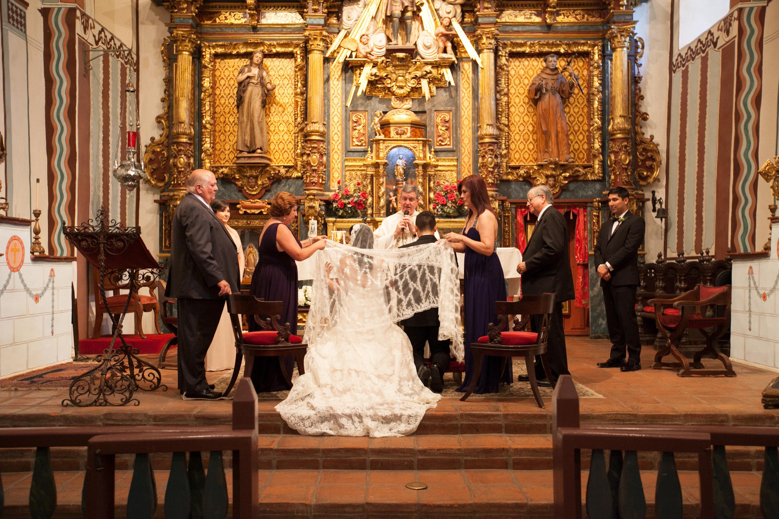 San Fernando E Ray church wedding - Hoste Events