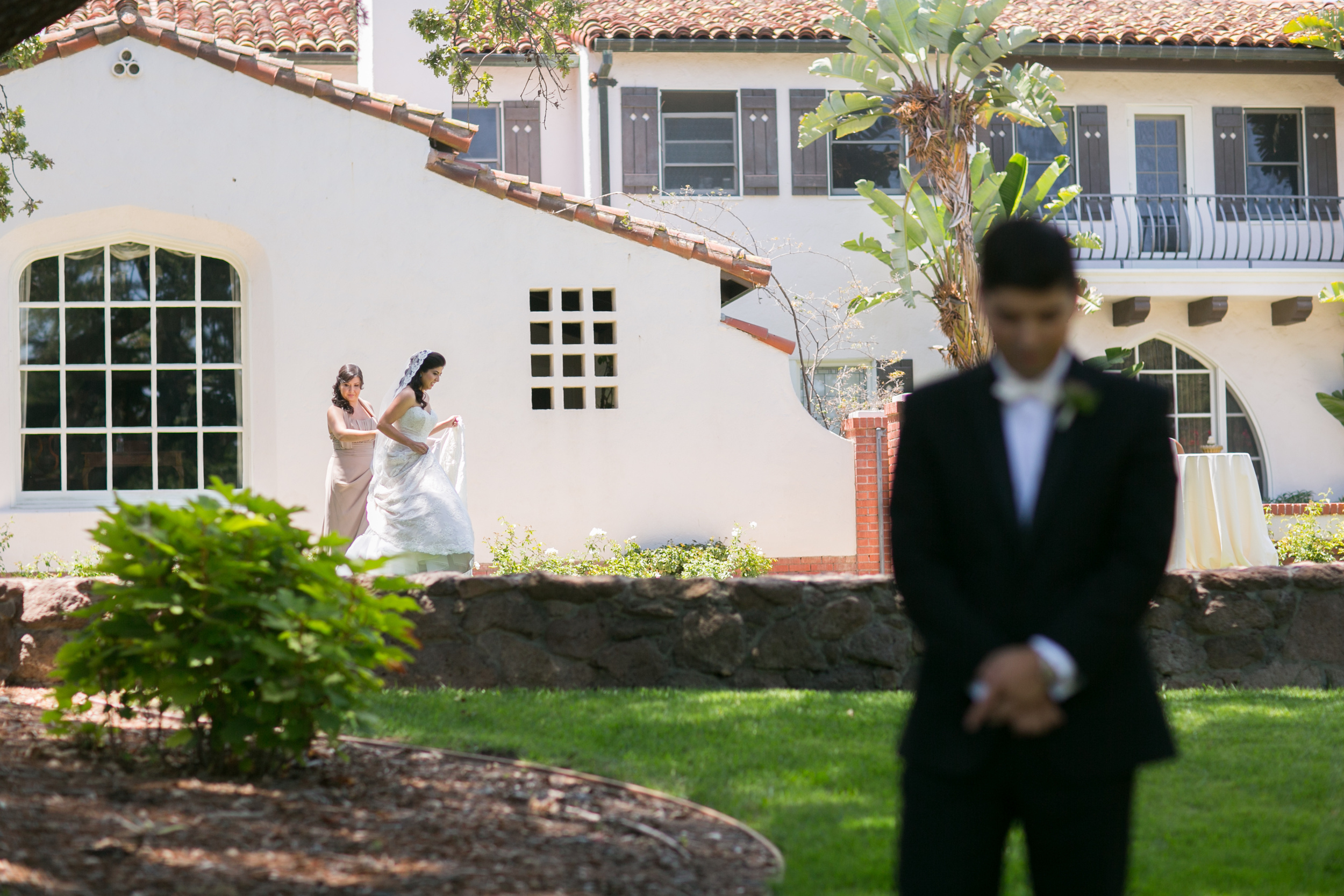 First Look Quail Ranch Wedding - Hoste Events