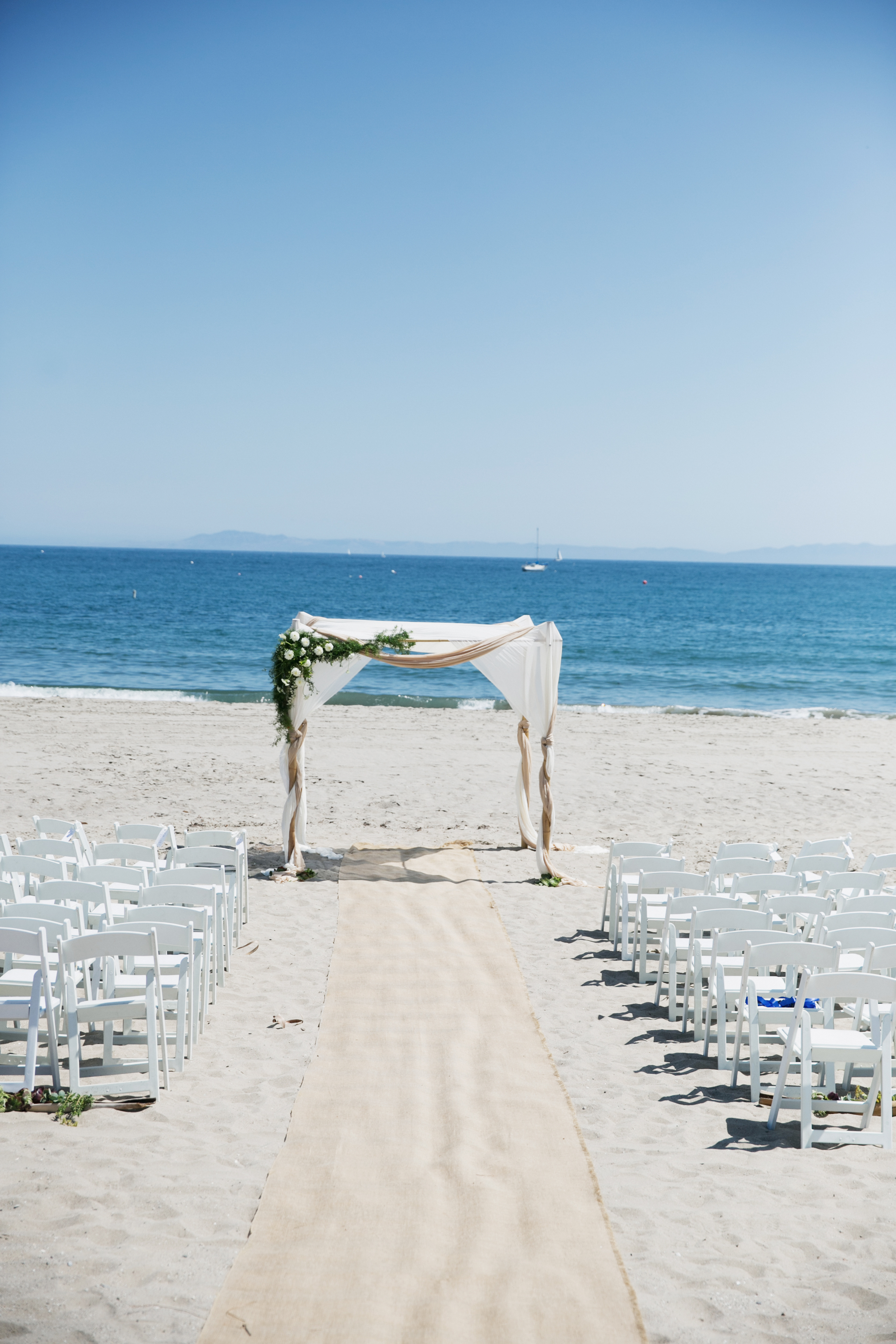 Santa Barbara beach ceremony
