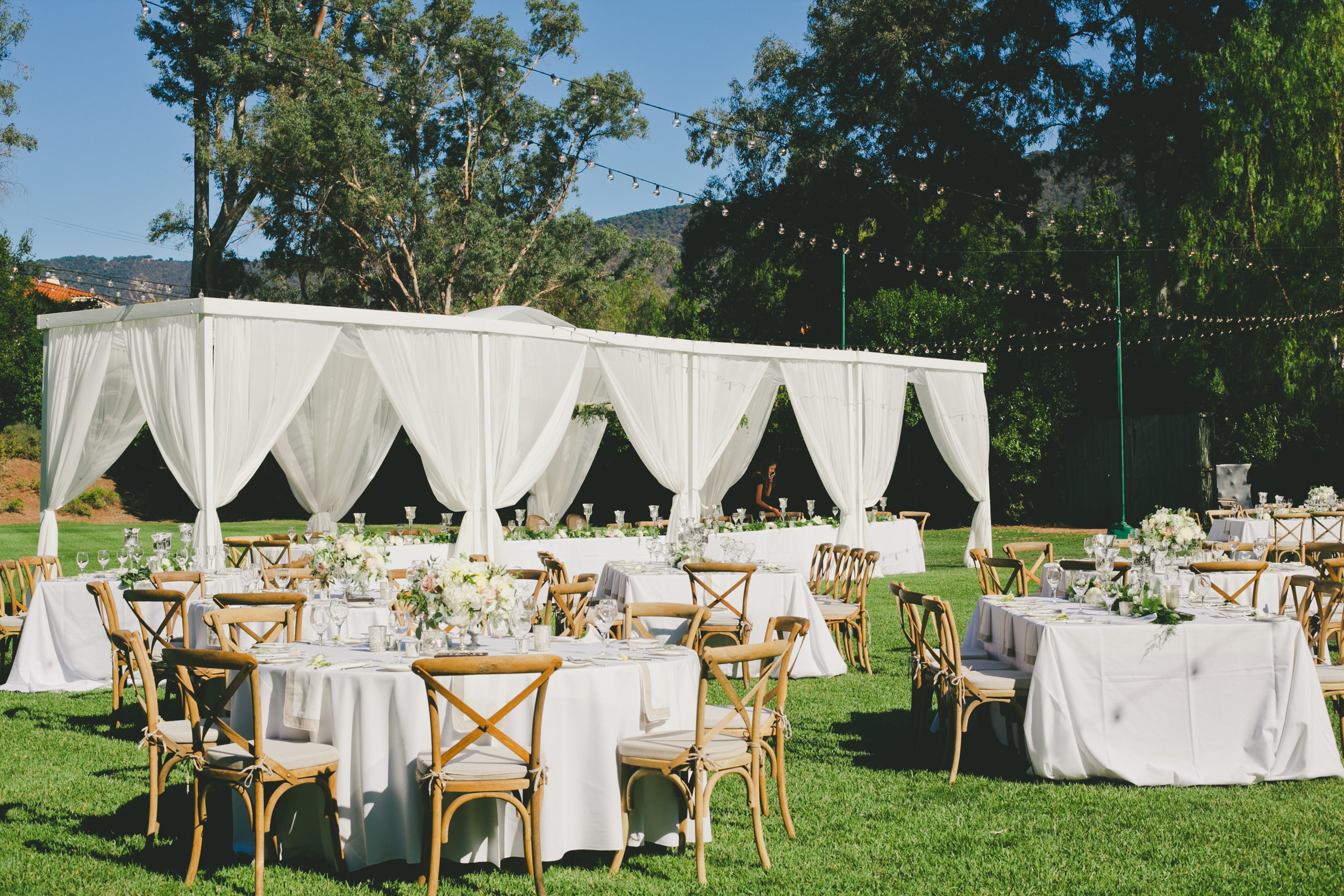 Romantic Ojai Valley Inn Outdoor Reception
