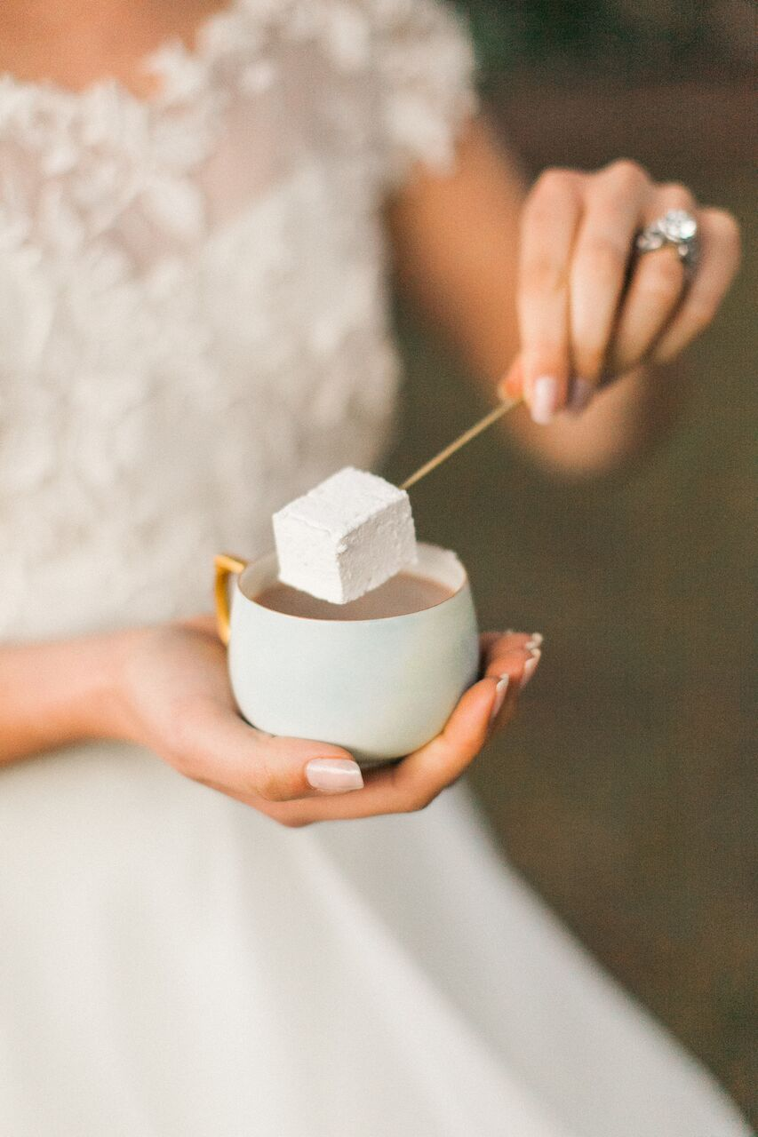 Marshmallow & Hot Chocolate Wedding