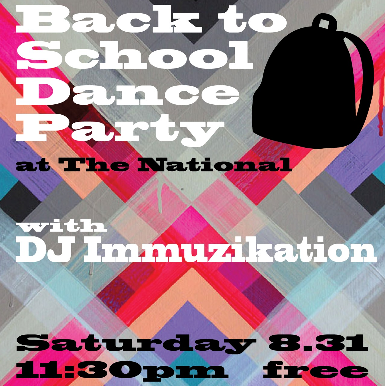 Welcome back, Athens! Get down with us this Saturday night with DJ Immuzikation, after hours in our dining room. Happy Labor Day Weekend!