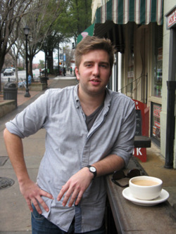 "Check out   Flagpole Magazine   this week as cook at The National,  Nathan Brand , gets featured in their series   Everyday People  .     Nathan Brand came to Athens to study English at the University of Georgia. Although he has always wanted to be a writer, he became frustrated with literary studies and left school. Now, he works as a cook at The National, and he finds a strong and profound connection between literature and food. He has even begun writing recipes and other food-focused pieces. He is considering returning to school to finish his degree, but he feels strongly attached to his culinary studies as well. In an ideal world, he says, he would be in Paris, London or Copenhagen next year studying under one of Europe's acclaimed Michelin chefs.      Flagpole:  Could you explain what you do for a job?     Nathan Brand:  Oh, it is really the best job I've ever had, and that's really why I haven't gone back to school: because it's so hard to leave, even for, you know, 10 hours a week. It totally took me by surprise. It was an ad in Craigslist. I found out later–I heard about the opening [by] word of mouth downtown. I've always wanted to work at The National. I'd probably turned in five resumes–I knew they were doing something special–and they never called me back. I'd always wanted to be a server over the years, and then I finally heard that they were hiring for cooks, and I was like, ""Okay, I'll check it out.""     FP : Had you ever been a cook before?     NB : I had never cooked anything in my life. Not even in my life. Me and my brother were like Jacob and Esau: I would trade anything for him to cook breakfast for me. I couldn't deal with it. I couldn't scramble eggs, and then all of a sudden, here I was in this fast-paced [environment]. As soon as I found out about the opening, I got interested in cooking sort of overnight. I suddenly realized that so many of my favorite memories from being a child and growing up were about food. I spent summers in New York and Idaho when I was a kid, so one of my favorite meals was rainbow trout in Idaho. We would go catch them. And I vividly remember being served a gyro in an upside-down frisbee at some terrible Greek restaurant that my grandpa took me to. So, I started to realize that I had all these really cool food memories, and I started to get interested in the intellectual and the thoughtful side of food, so I grabbed a cookbook–The French Laundry [Cookbook]–and I was hooked. It was like reading an amazing story.     FP : That's what I'd been wondering: as a former English major, do you think there is a connection between the way you experience food and the way you experience literature?     NB : I do now, but when I started I was so overwhelmed I couldn't even think. I [had been] working at a coffee shop and a bakery, so I was kind of all over the place before I settled down and focused on just cooking. But I didn't think so before: I thought that writing was writing and cooking and eating was cooking and eating. And maybe wine was the bridge between the two. But I never thought that you could think about food as much as you can think about literature, and that's what has kept me going and kept me totally hooked.     FP : Could you explain what that connection is?     NB : I think that connection is creativity, and I've started to understand that flavors are kind of like words, and they can be put together beautifully, or they can go together in kind of a messy way. They can be very pure, or they can be kind of muddled. It's all about technique, and that's one of the things that writing and cooking have in common. I spent my whole life trying to be a writer. When I was a kid, that's all I ever wanted to do was practice and practice and practice, so now I'm pretty good. But now, I feel the exact same way about cooking. I've had to practice and practice, and that was really discouraging at first, but I started to get better exponentially after awhile, and that's an encouraging thing.     FP : You're not from Athens originally, are you?     NB : I'm not. I've lived all over the country, and then Gwinnett for the longest time, which is kind of depressing to me, but I totally grew up in Gwinnett. That was another huge part of my sense memory as a kid. We had a huge garden that fed the whole family.     FP : People garden in Gwinnett?     NB : Well, my parents were, like, the only ones. We sold that house, and that garden's gone, of course, but when I was a kid, I was home-schooled until I went to high school… A large part of my day was spent in the garden, and I hated every minute of it, but now I would give anything to go back and be a part of that.     FP : So, what do you think about Athens?    NB: Athens is one of the best places to be passionate and learn about something in the world. Everything's cheap. Everyone is passionate about something. Everyone is doing something they love if they're not students, especially. Usually it's music, and sometimes it's art, but probably third down on the list is cooking, since this is totally a service-driven economy. It's really cool to be able to talk to other cooks about what you're doing.     FP : You mentioned working for free or for low pay. Is that something you could do only in Athens, or would you find it gratifying anywhere?     NB : On the one hand, I do think it's only that way in Athens and other select cities. In Athens–I live on Pulaski Street, in the best house I've ever lived in for so cheap, with a garden and chickens.     FP : Did you always know that you could work for a low wage and feel good about it, or did you arrive at that point gradually?     NB : I was very worried. I've been a server in the town for a long time, and you make very nice money for the town doing that, so I was very worried that I was going to run out of cash [when I became a cook]. But, I lived very cheaply for a year and a half–that's how long I've been doing this–so I've been able to travel a lot. I've been to New York; I've been to Chicago; I've been to Charleston, Atlanta, Savannah, just because I'm not spending all my money here in town. I'd go there for food, and I'd go there for coffee because I'm a big coffee nerd, and I have learned so much. Every lesson has been amazing.     By Emily Patrick, Flagpole Magazine (everydaypeople@flagpole.com)"