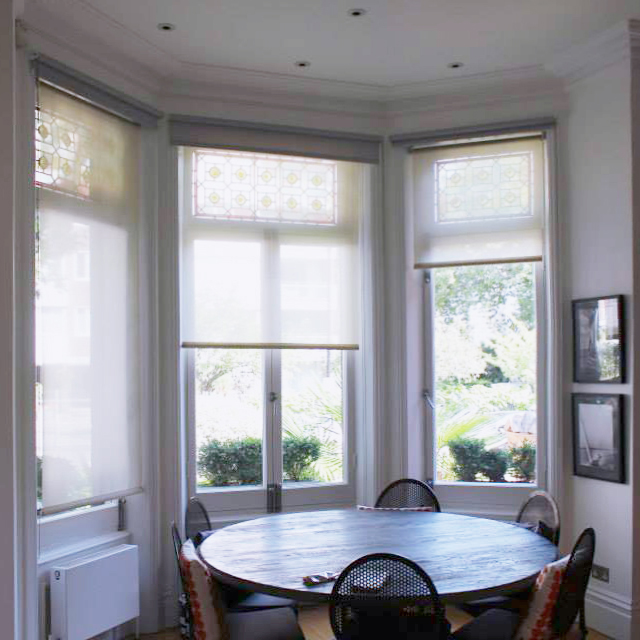 #NHRenovations #Painter #Decorator #London #PrimroseHill #Windows #Farrowandball #Farrow #Allwhite #eggshell