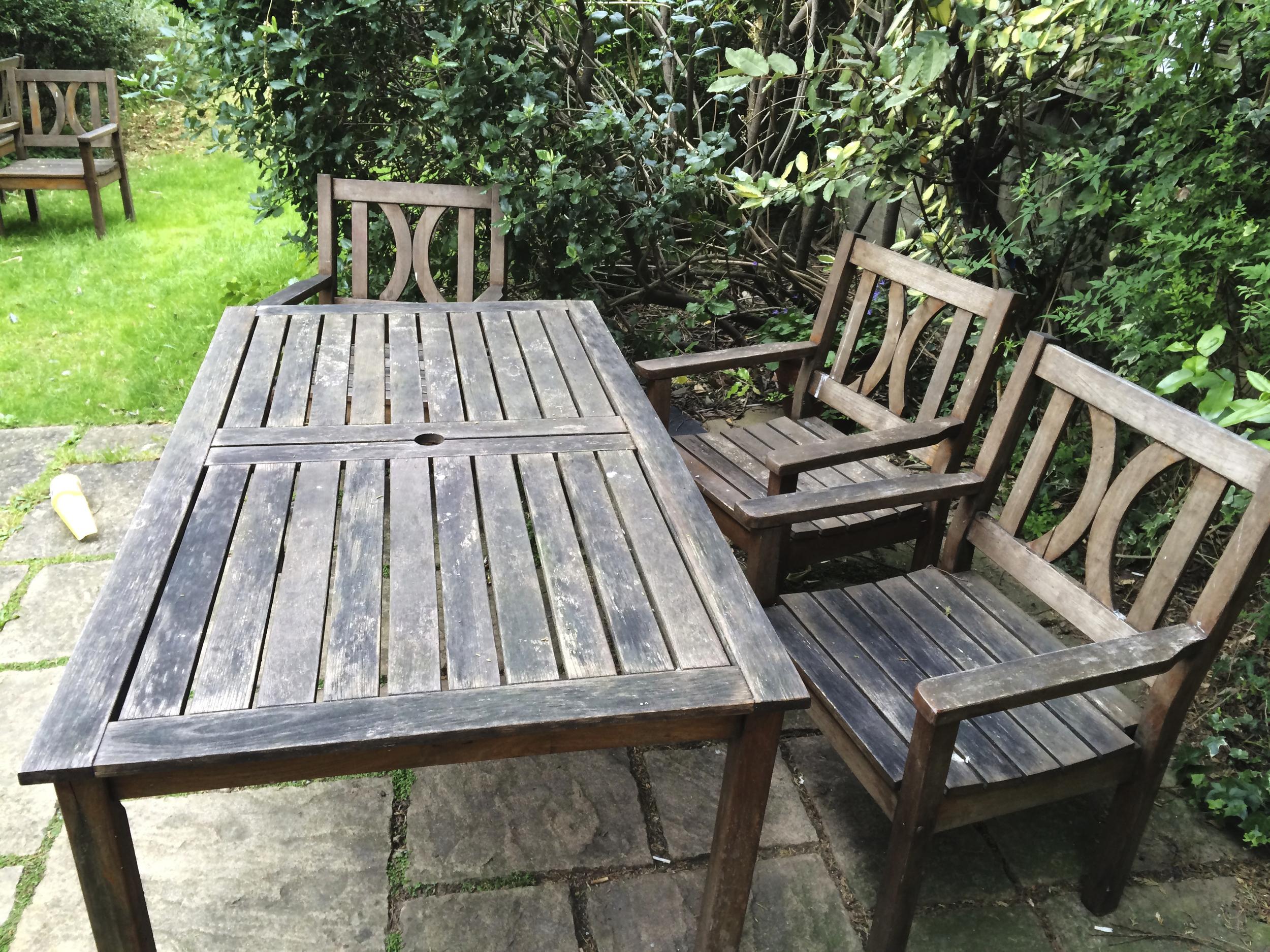 #NHRenovations #Painter #Decorator #London #Holloway #Garden #Furniture #Old