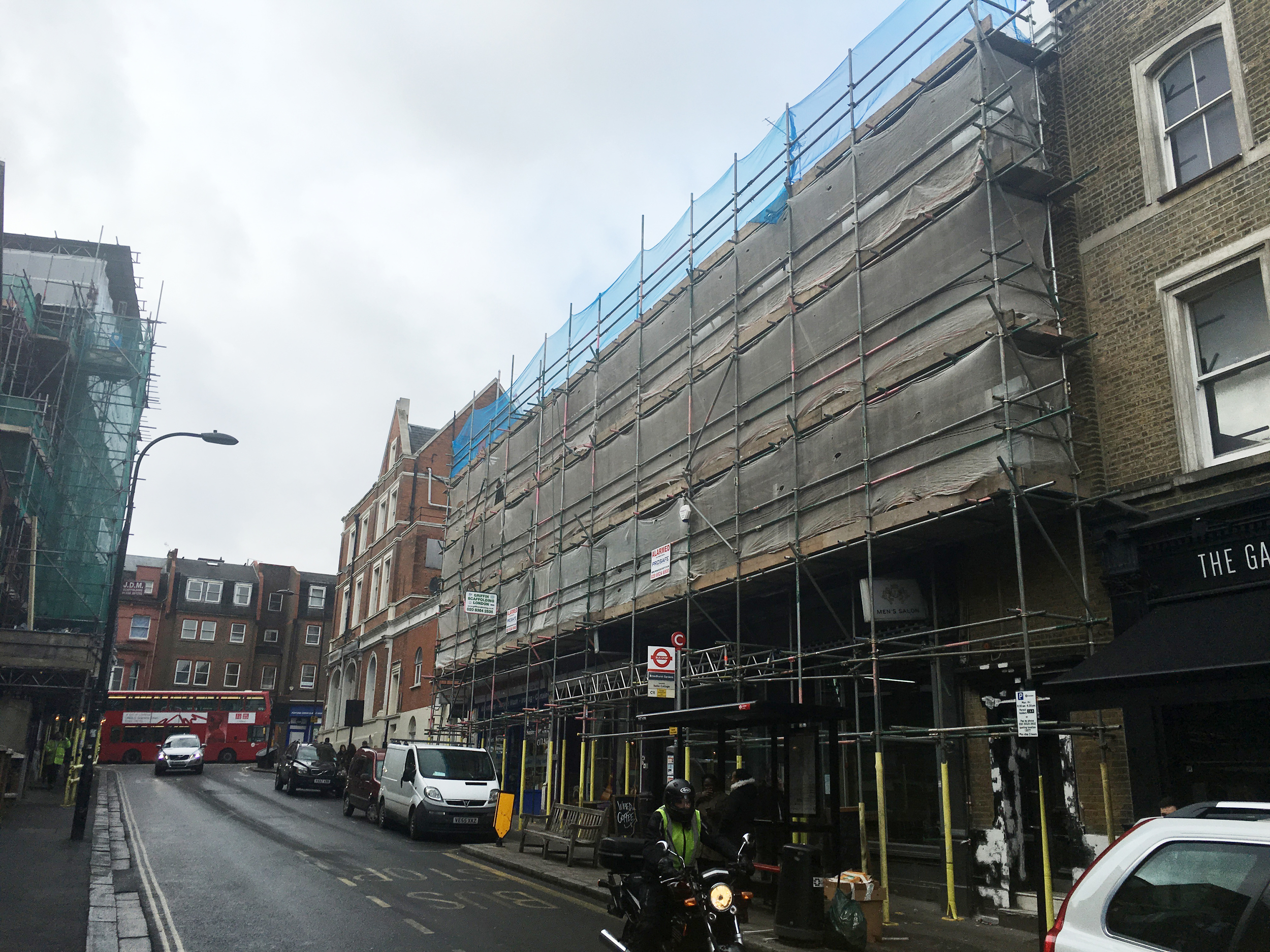 #NHRenovations #Painter #Decorator #London #BroadhurstGardens #Westhampstead #Scaffolding #Commercial #Exterior #Building