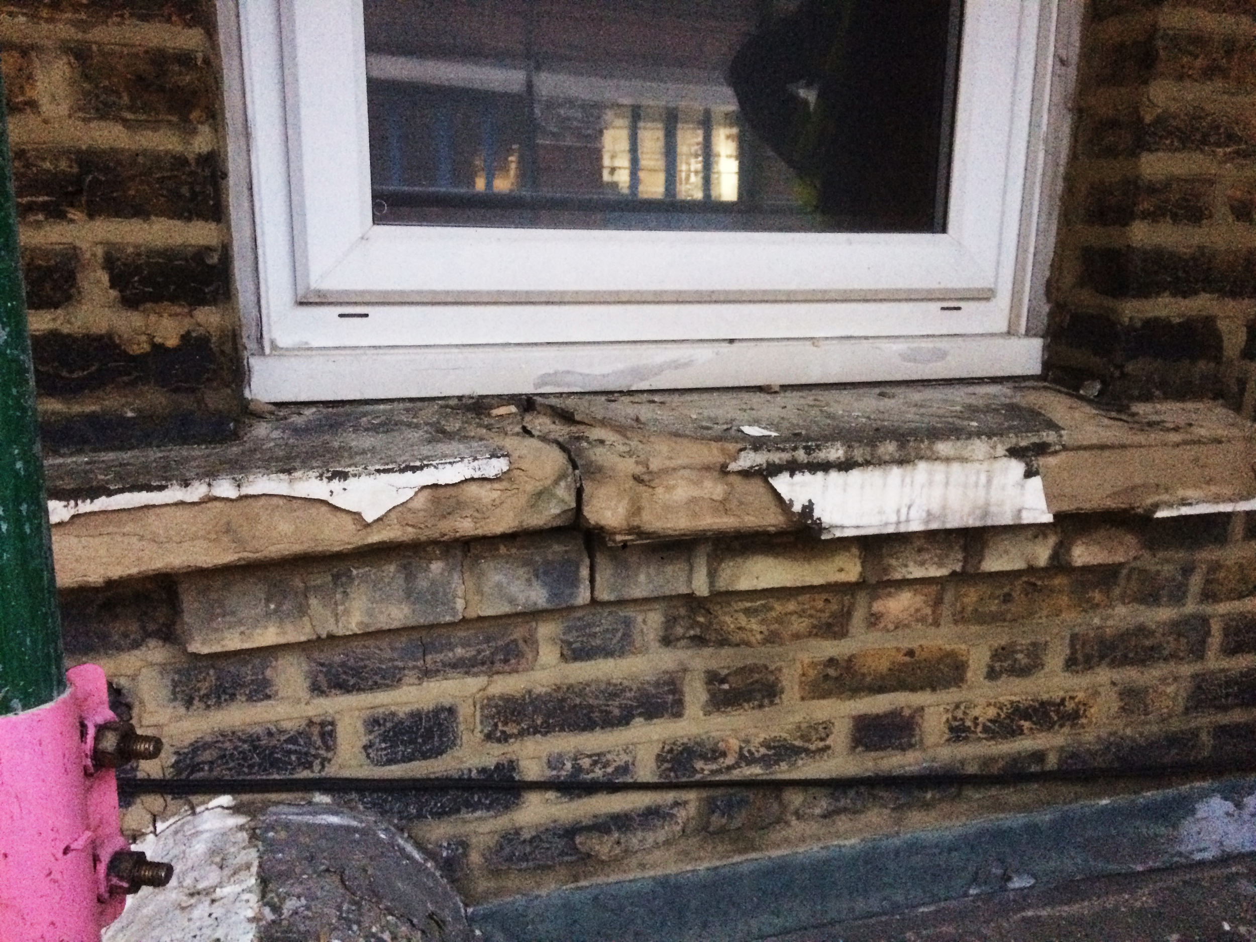 #NHRenovations #Painter #Decorator #London #BroadhurstGardens #Westhampstead #Windowsill #Commercial #Exterior #Building