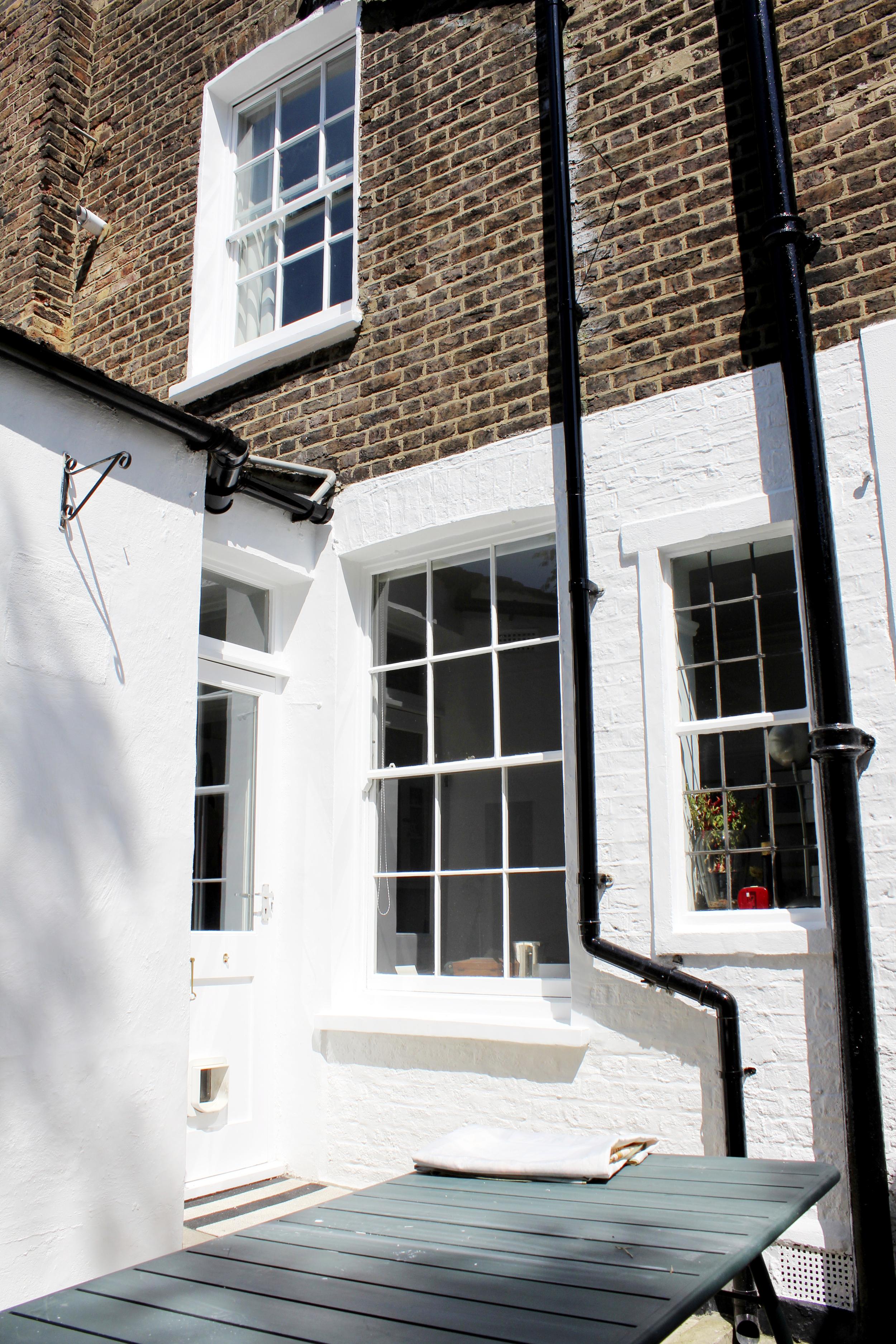 #NHRenovations #Painter #Decorator #London #Kentishtown #Kentish #Listedbuilding #Backgarden #Windows #Masonry #Dulux #Smoothmasonry #Exterior #Building #Finishedcoat #Beautiful
