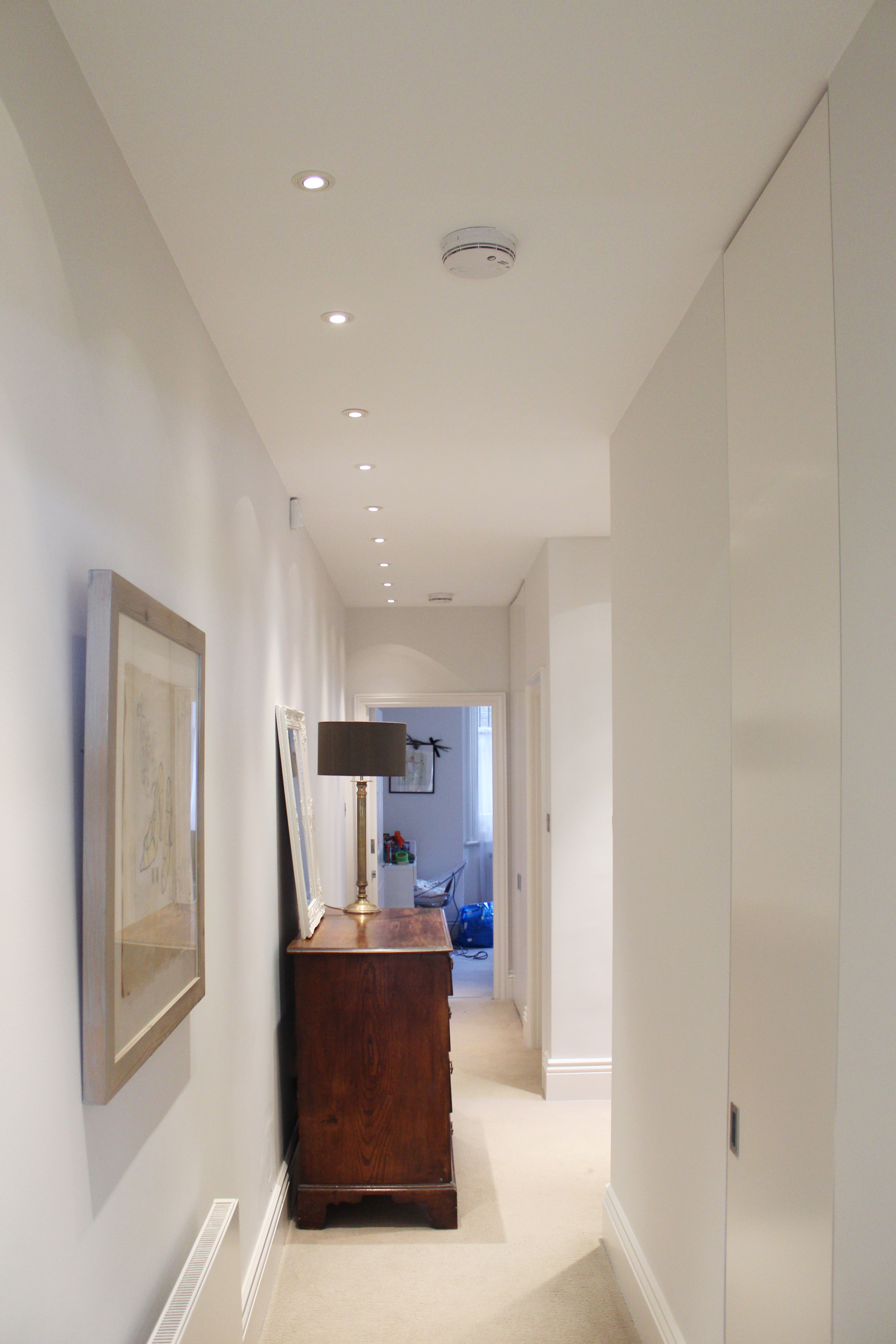 #NHRenovations #Painter #Decorator #London #PrimroseHill #Hallway #Farrowandball #Farrow #Blackened #Basement #PrimroseHill #Primrose