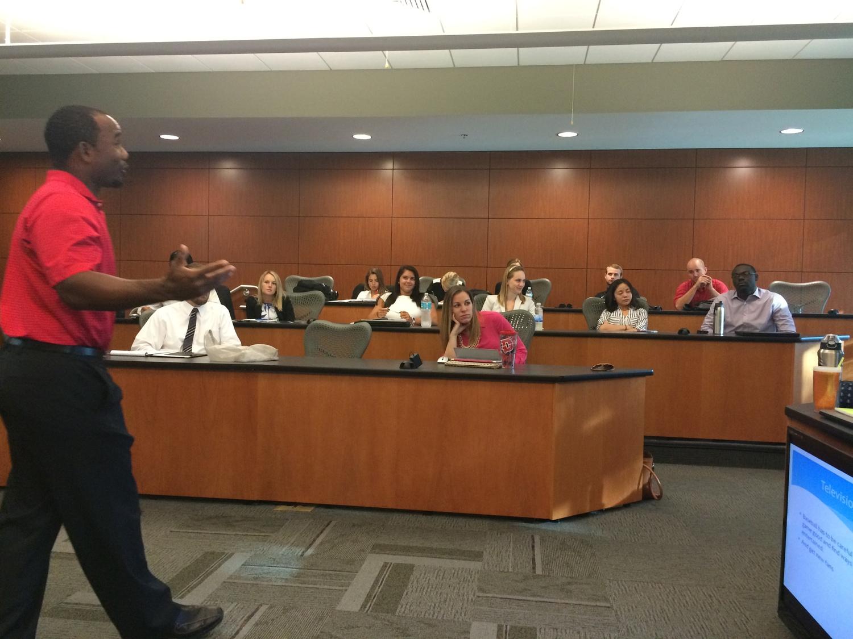 Presentation at USF MBA