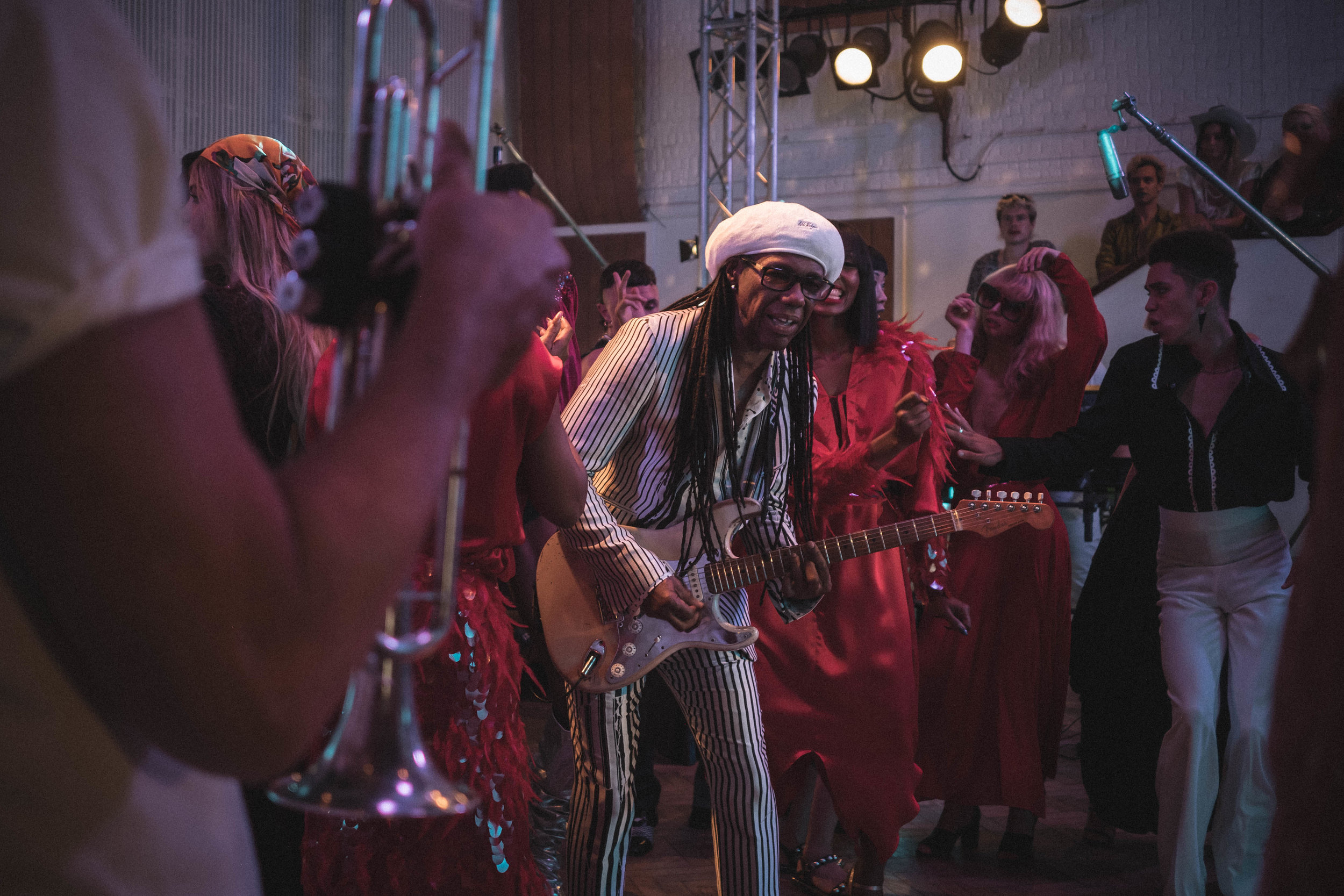 Nile Rogers' BTS Music Video and Cameo By ME!