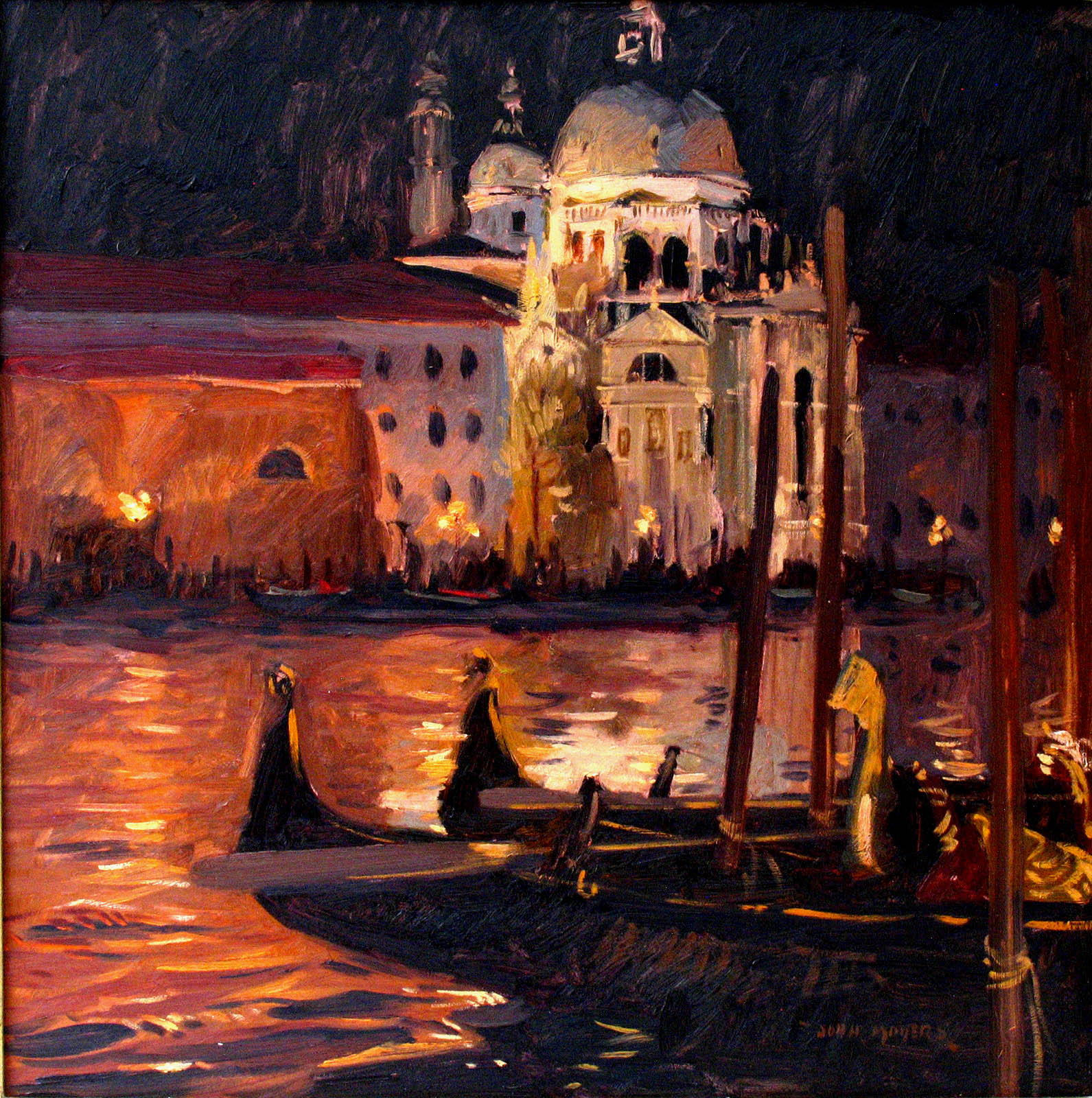 Midnight on the Grand Canal