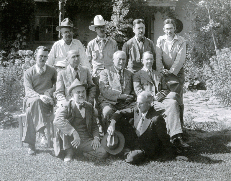 Members of the Taos Society of Artists, ca. 1932, photo courtesy of The Couse Foundation