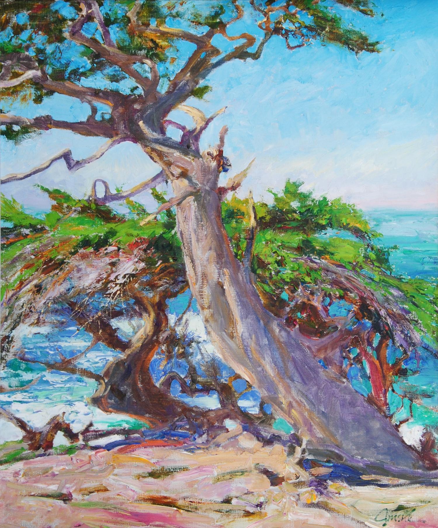 Cypress at Pescadero Point