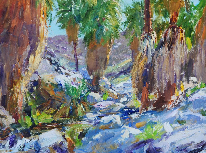 Palm Canyon at Split Rock