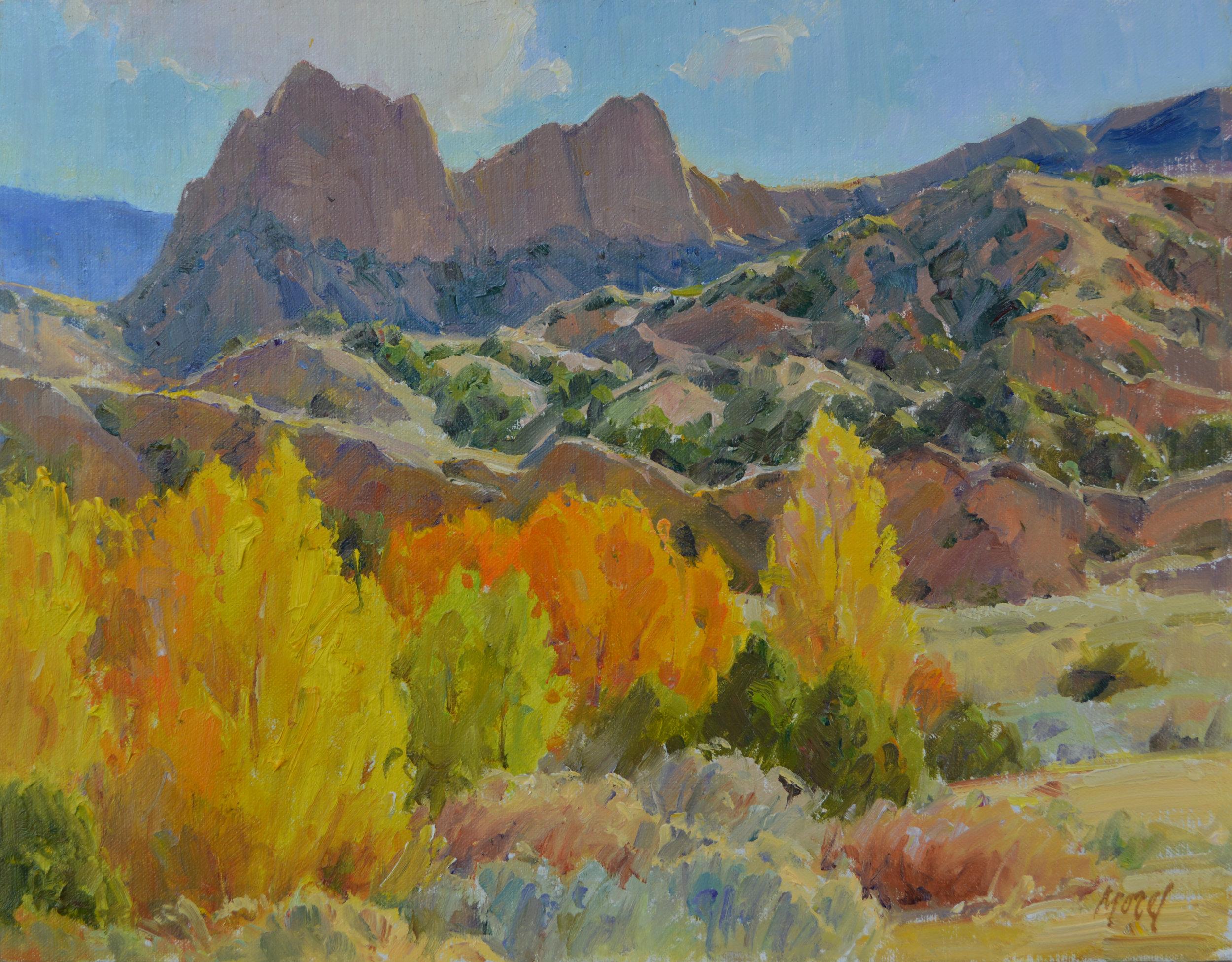 Autumn Desert